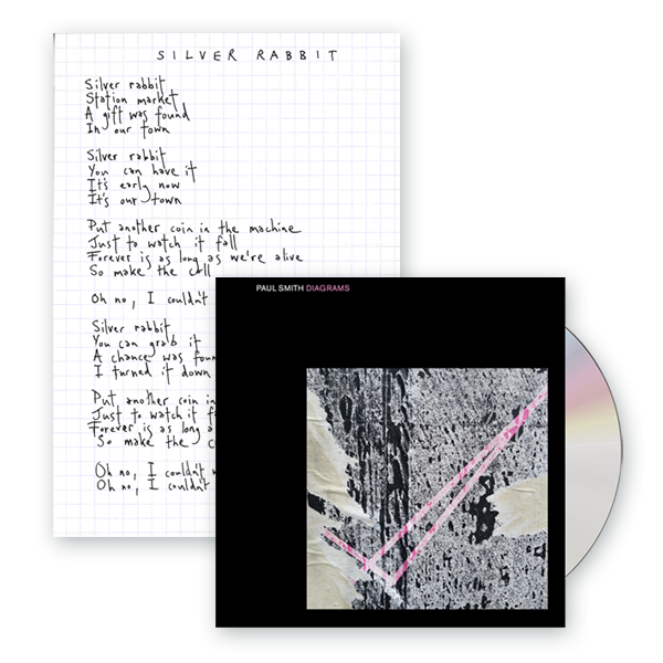 Buy Online Paul Smith - Diagrams CD Album (Signed) + Printed Lyric Sheet (Signed)