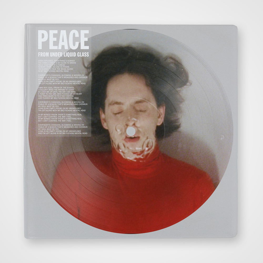 Buy Online Peace - From Under Liquid Glass - 12-Inch Picture Disc Single (Ltd Edition)