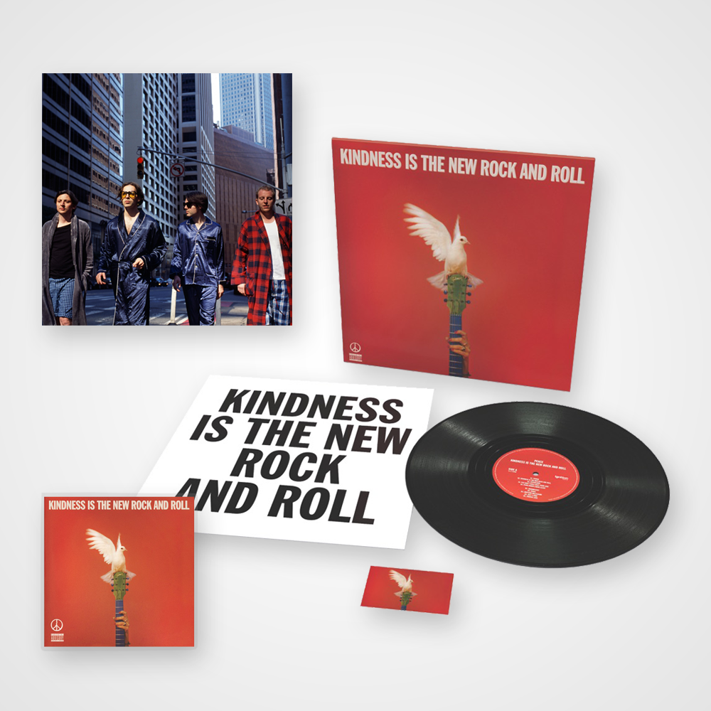 Buy Online Peace - Kindness Is The New Rock And Roll - CD (Signed) + Vinyl (Signed) + Art Print