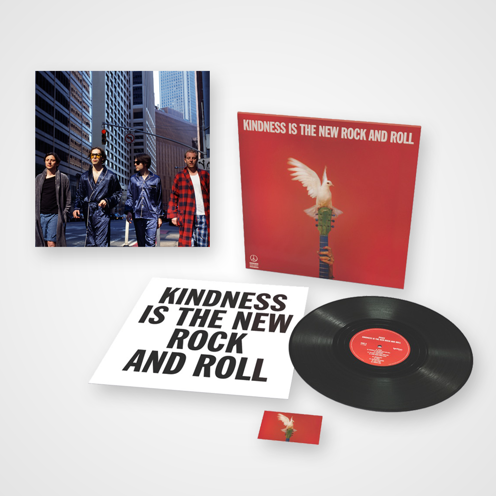 Buy Online Peace - Kindness Is The New Rock And Roll - Heavyweight Vinyl LP + Art Print