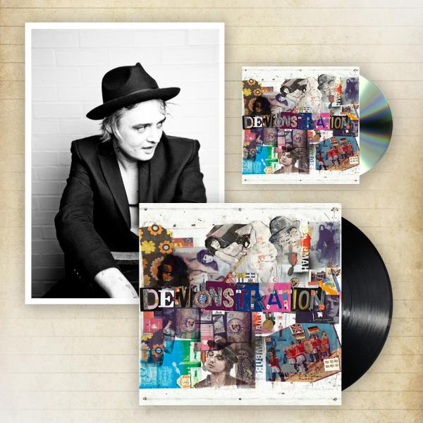 Buy Online Peter Doherty - Hamburg Demonstrations CD + Heavyweight LP + A4 Photographic Print