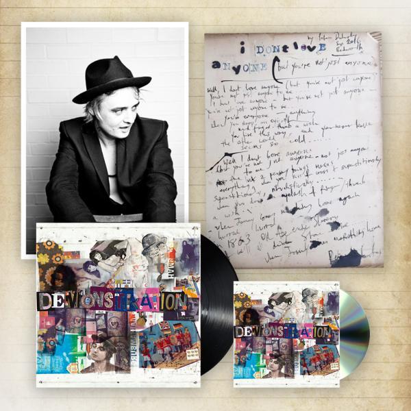 Buy Online Peter Doherty - Hamburg Demonstrations CD + Heavyweight LP +  A4 Photo + Ltd Edition Lyric Sheet