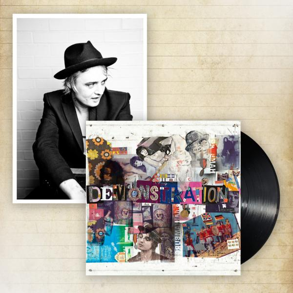 Buy Online Peter Doherty - Hamburg Demonstrations Heavyweight Vinyl LP + A4 Photographic Print