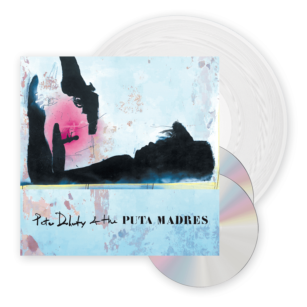 Buy Online Peter Doherty & The Puta Madres  - Peter Doherty & The Puta Madres Clear Vinyl + CD/DVD