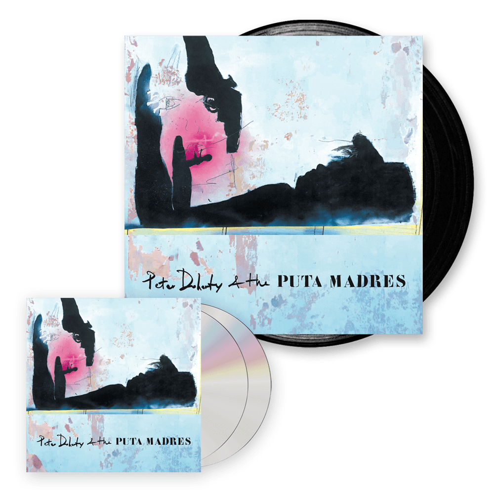 Buy Online Peter Doherty & The Puta Madres  - Peter Doherty & The Puta Madres CD + DVD + Vinyl