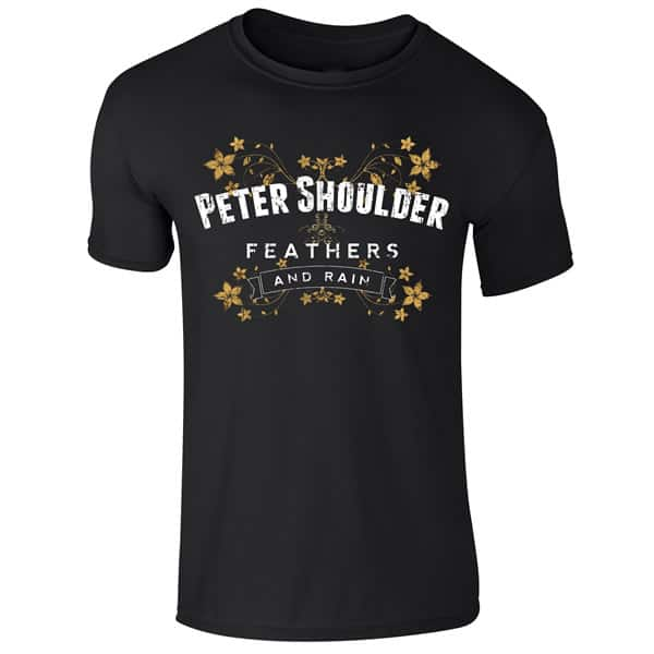 Buy Online Peter Shoulder - Feathers And Rain T-Shirt