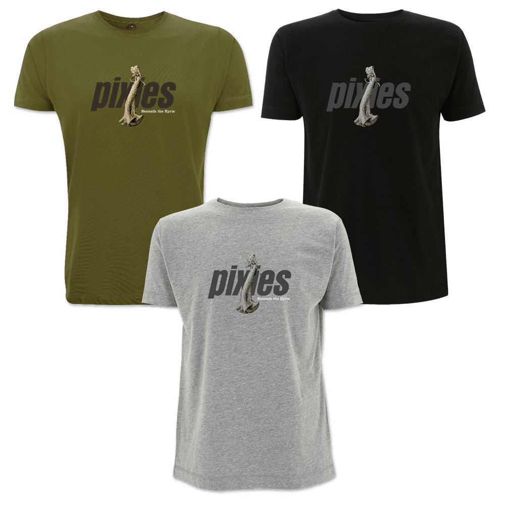Buy Online Pixies - Beneath The Eyrie T-Shirt