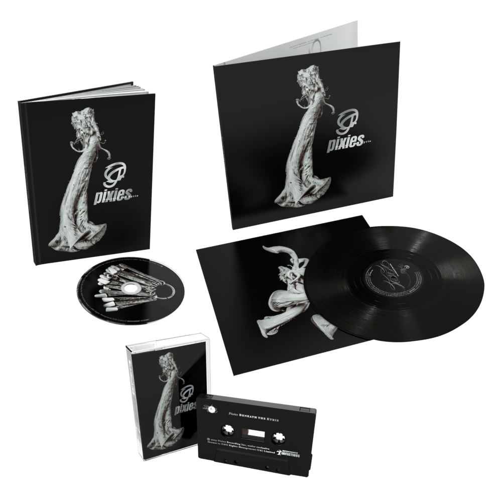 Buy Online Pixies - Beneath The Eyrie Deluxe CD + Vinyl + Cassette