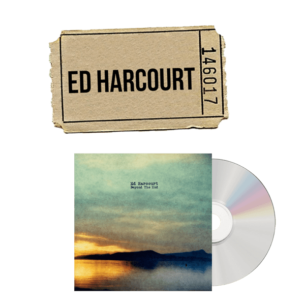 Buy Online Ed Harcourt - CD and Ticket Bundle