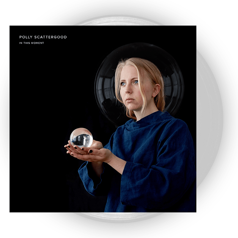 Buy Online Polly Scattergood - In This Moment Clear Vinyl