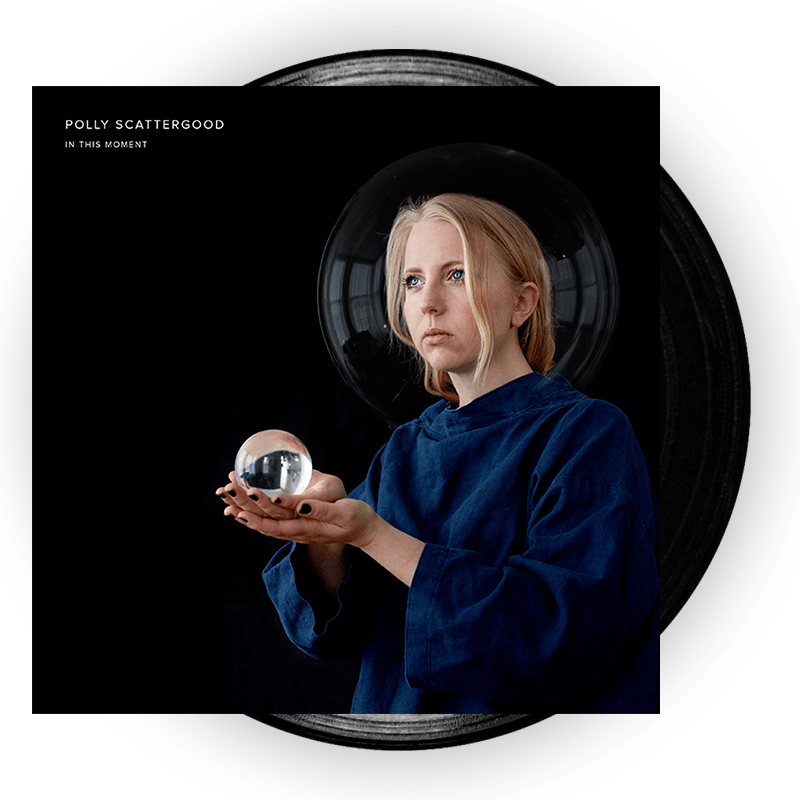 Buy Online Polly Scattergood - In This Moment Signed Black Vinyl