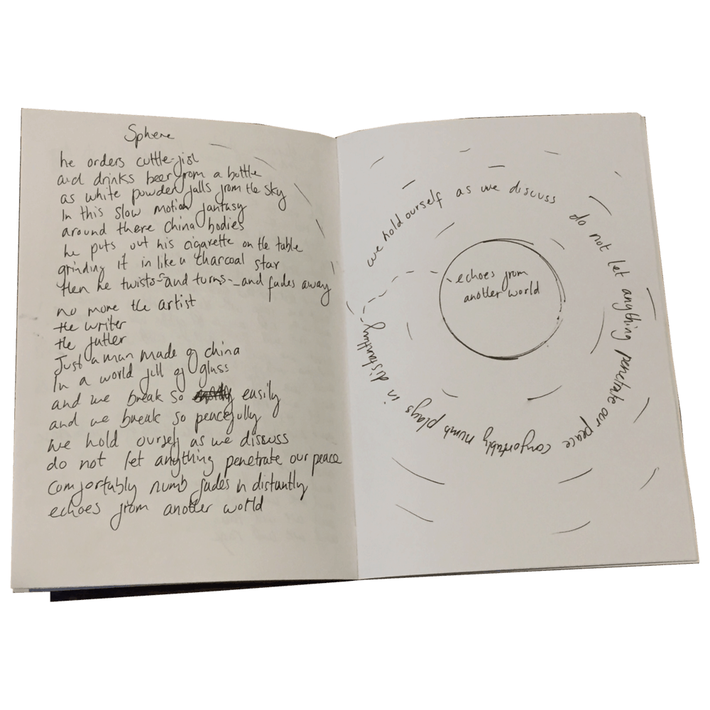 Buy Online Polly Scattergood - Limited Edition Handwritten Lyric Book