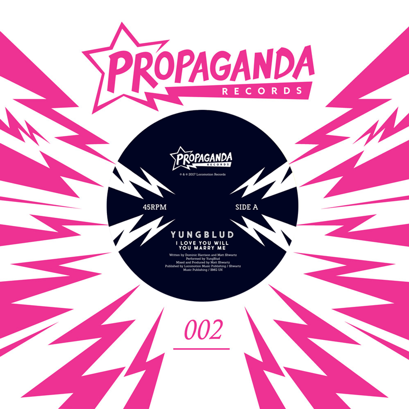 Buy Online Propaganda Records - YUNGBLUD - ILYWYMM 7-Inch Vinyl