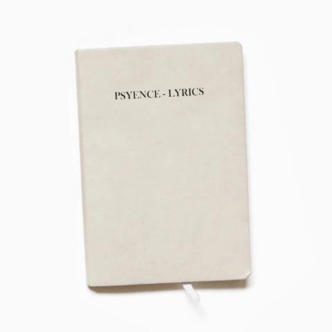 Buy Online Psyence - Handwritten Lyric Sheet