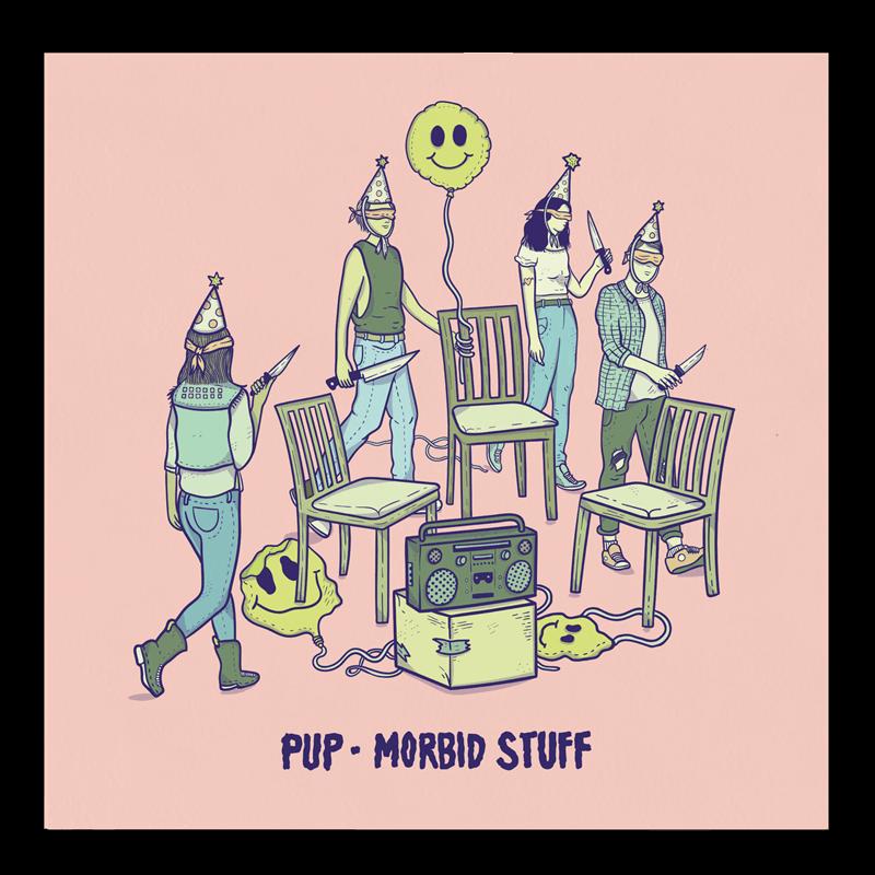 Buy Online PUP - Morbid Stuff Half & Half Clear/Colour
