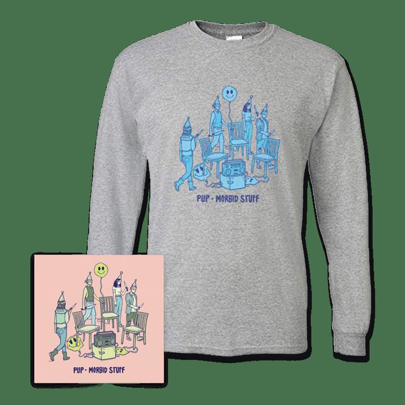 Buy Online PUP - Morbid Stuff CD + T-Shirt