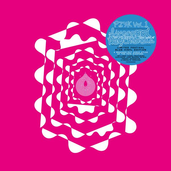Buy Online Various Artists - Liverpool International Festival Of Psychedelia Presents PZYK Vol. 1 (3LP & 2CD Blue Vinyl Edition, Includes Giant Fold Out Poster)