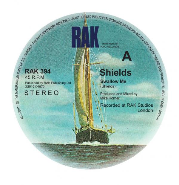Buy Online Shields - Swallow Me / Chequered Love (Signed Exclusive)