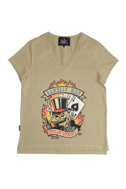 Buy Online Ramblin Man - Ladies Outlaw 2017 T-Shirt