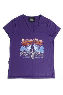 Buy Online Ramblin Man - Ladies Wizard 2017 T-Shirt