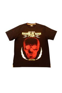 Buy Online Ramblin Man - Skull 2015 T-Shirt