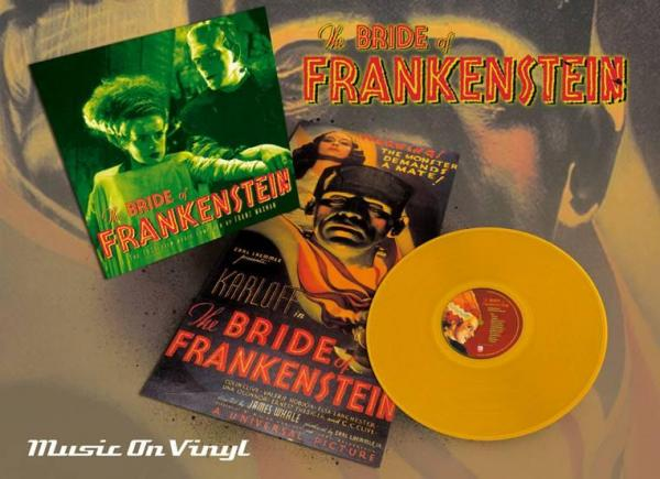 Buy Online Original Soundtrack - Bride Of Frankenstein (Orange Vinyl)