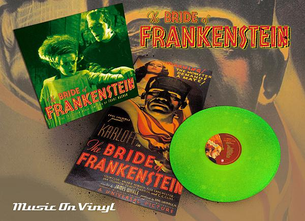Buy Online Original Soundtrack - Bride Of Frankenstein (Green Vinyl)