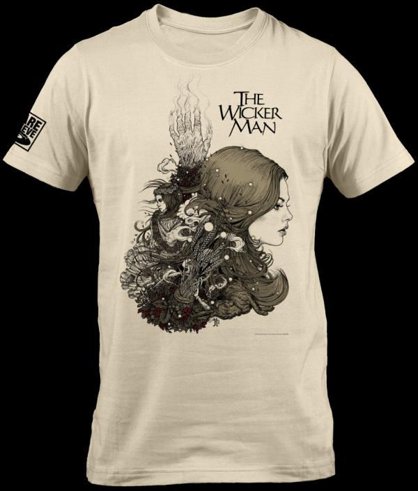 Buy Online The Wicker Man - The Wicker Man 40th Anniversary Edition T-Shirt