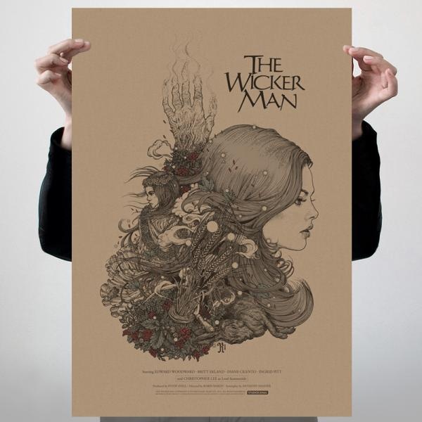 Buy Online The Wicker Man - The Wicker Man 40th Anniversary Edition Poster