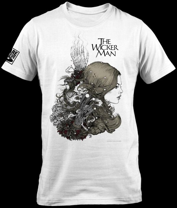 Buy Online Rare Sleeve - The Wicker Man 40th Anniversary Edition T-Shirt