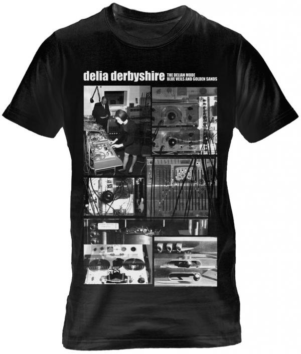 Buy Online Rare Sleeve - Delia Derbyshire Black T-Shirt
