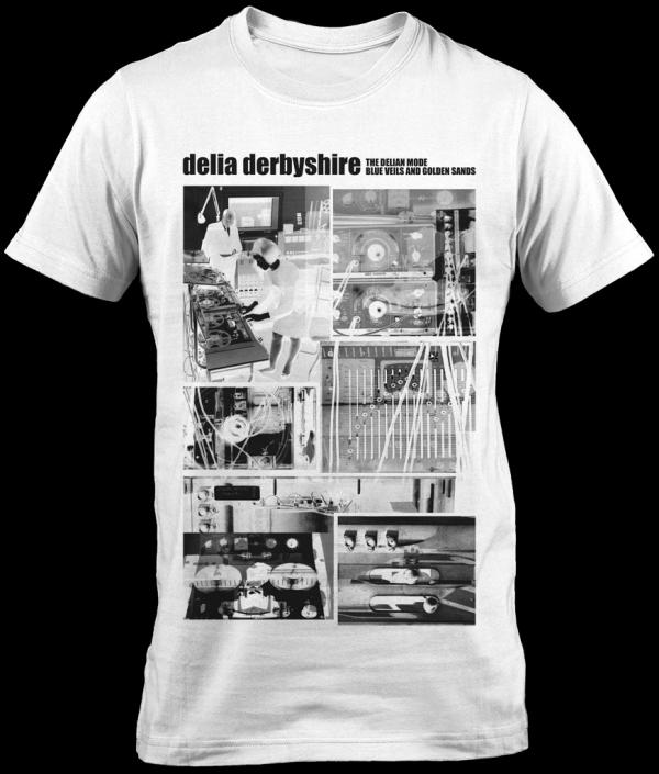 Buy Online Rare Sleeve - Delia Derbyshire White T-Shirt