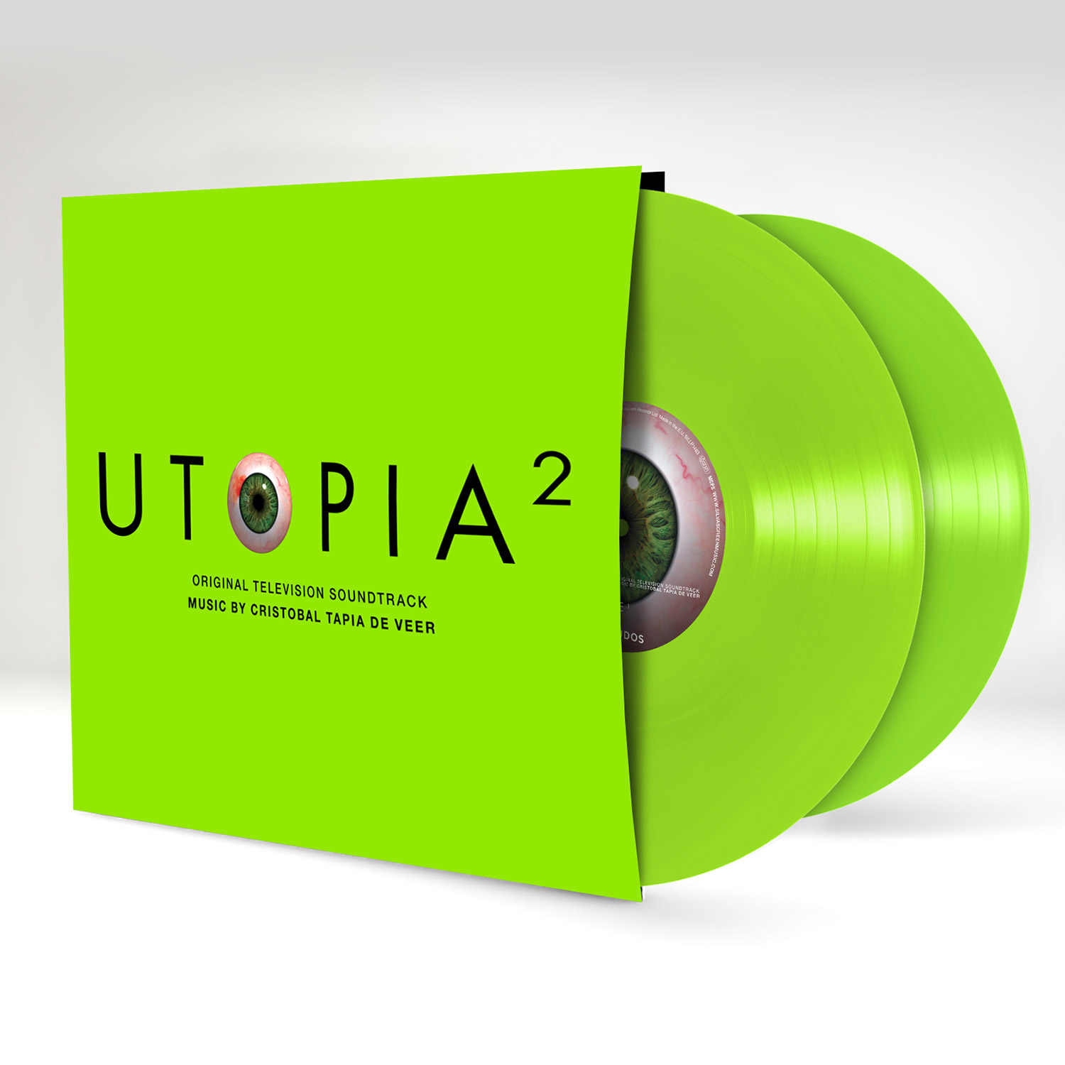 Buy Online Rare Sleeve - Utopia 2 Original Soundtrack Grass Green