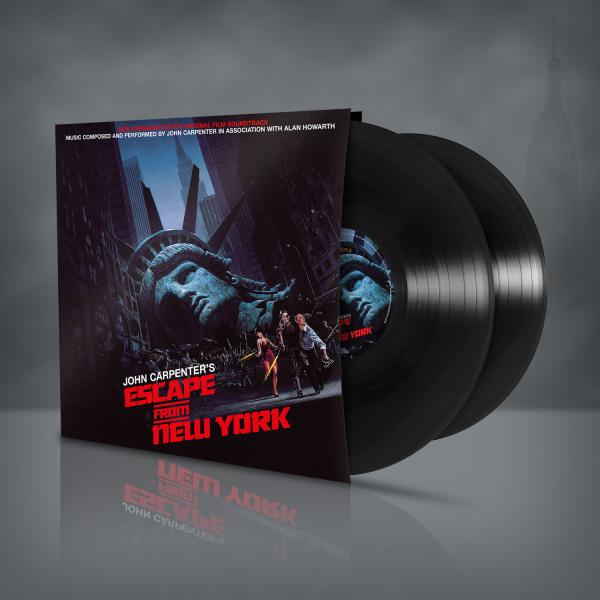 Buy Online Rare Sleeve - Escape From New York - OST