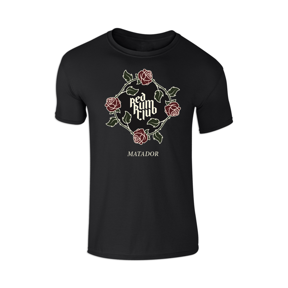 Buy Online Red Rum Club - Black Matador T-Shirt