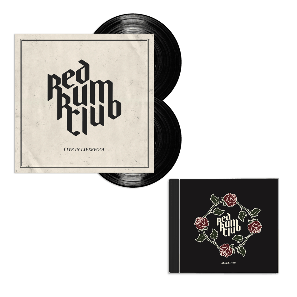 Buy Online Red Rum Club - Live In Liverpool Double Vinyl + Matador CD