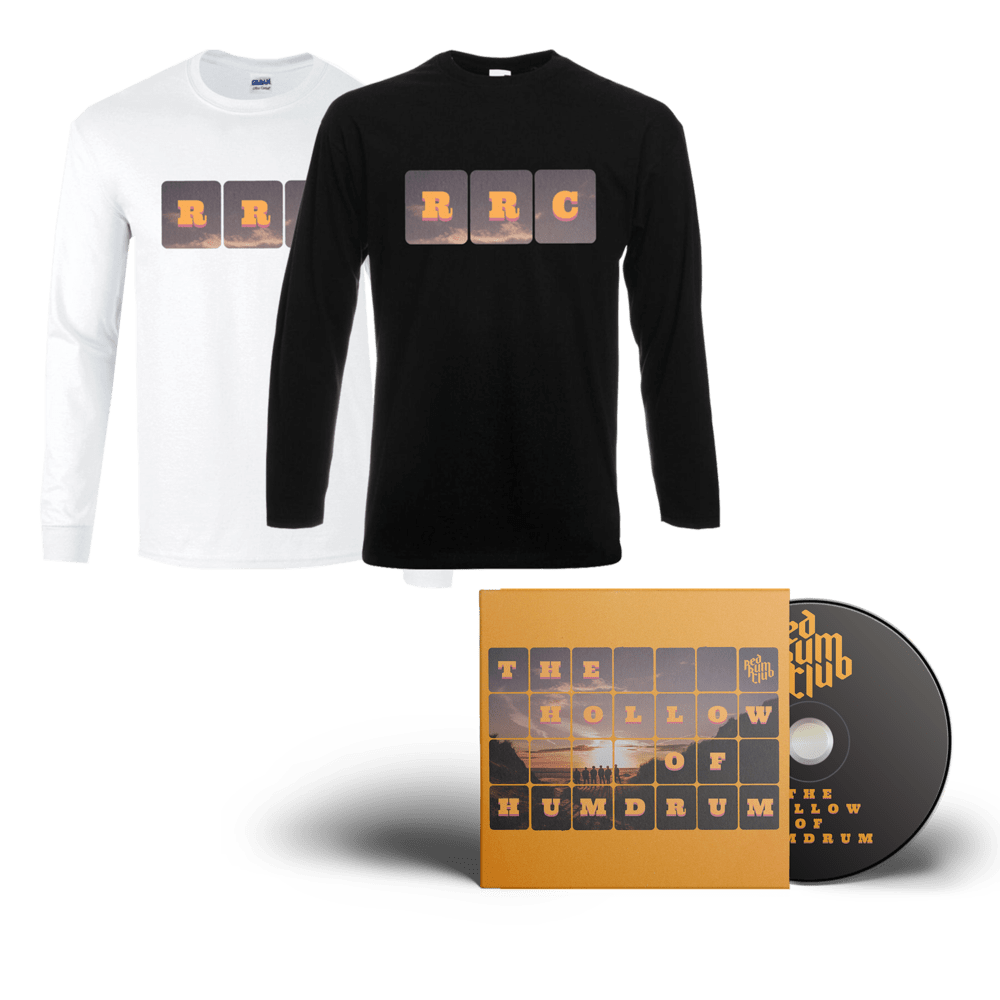 Buy Online Red Rum Club - The Hollow Of Humdrum CD (Signed) + Long Sleeve T-Shirt