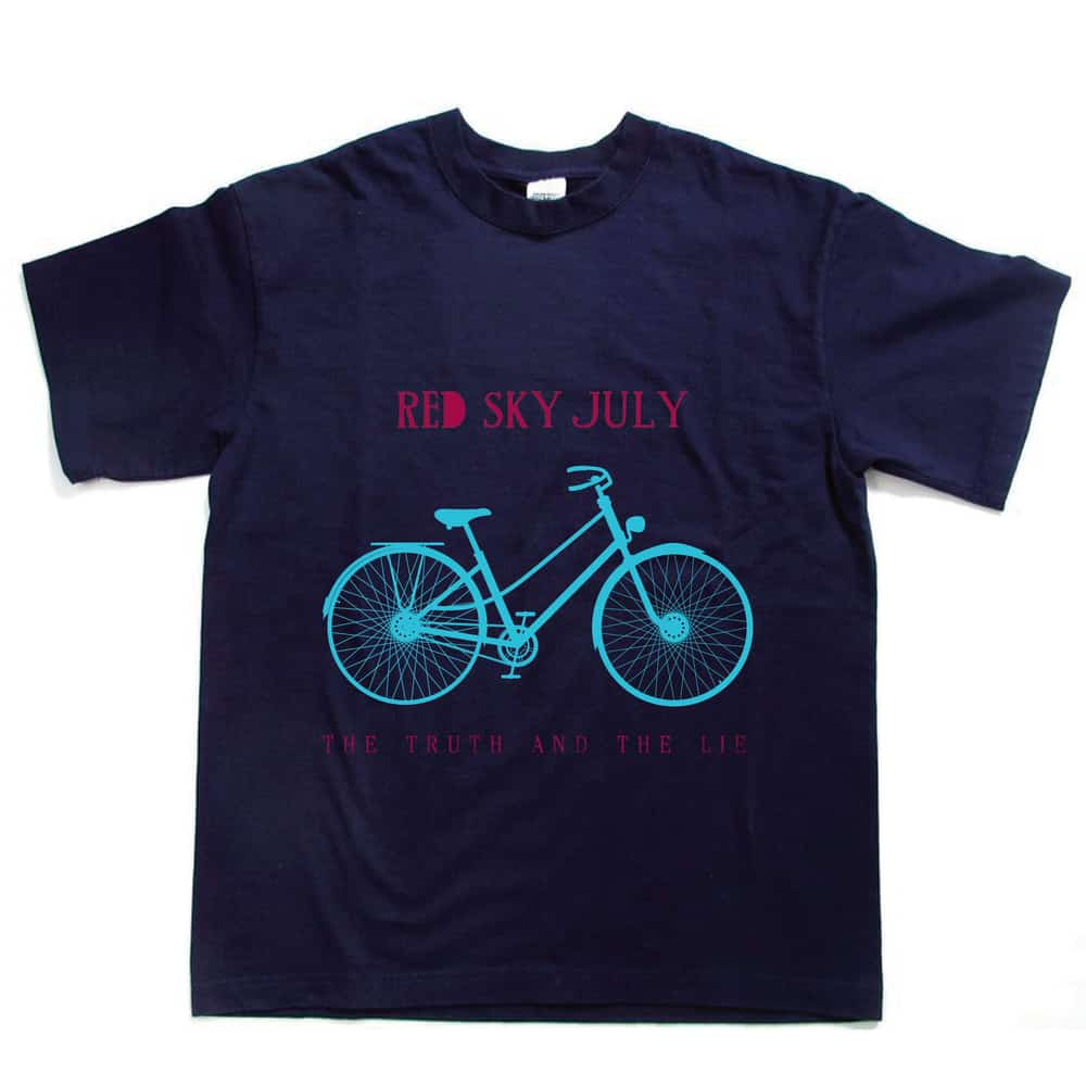 Buy Online Red Sky July - The Truth And The Lie T-Shirt