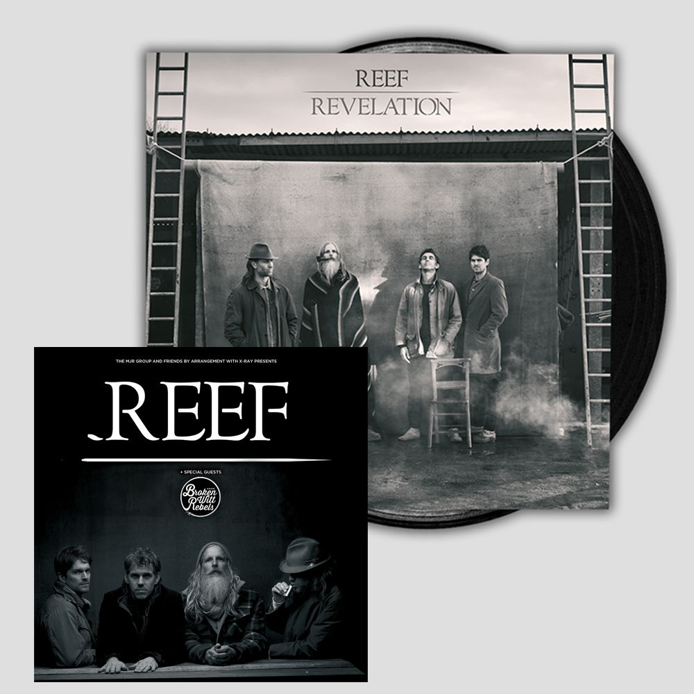 Buy Online Reef - Revelation CD - Ticket