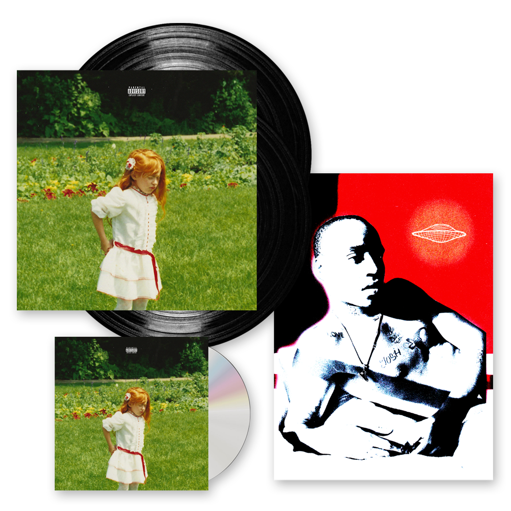 Buy Online Rejjie Snow - Dear Annie CD + Double Vinyl LP + Signed Print