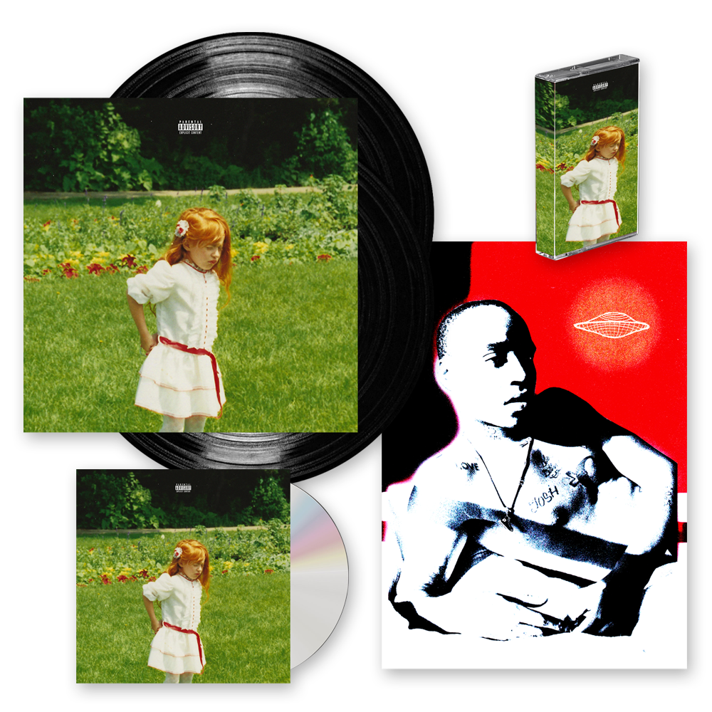 Buy Online Rejjie Snow - Dear Annie CD + Double Vinyl LP + Cassette + Signed Print