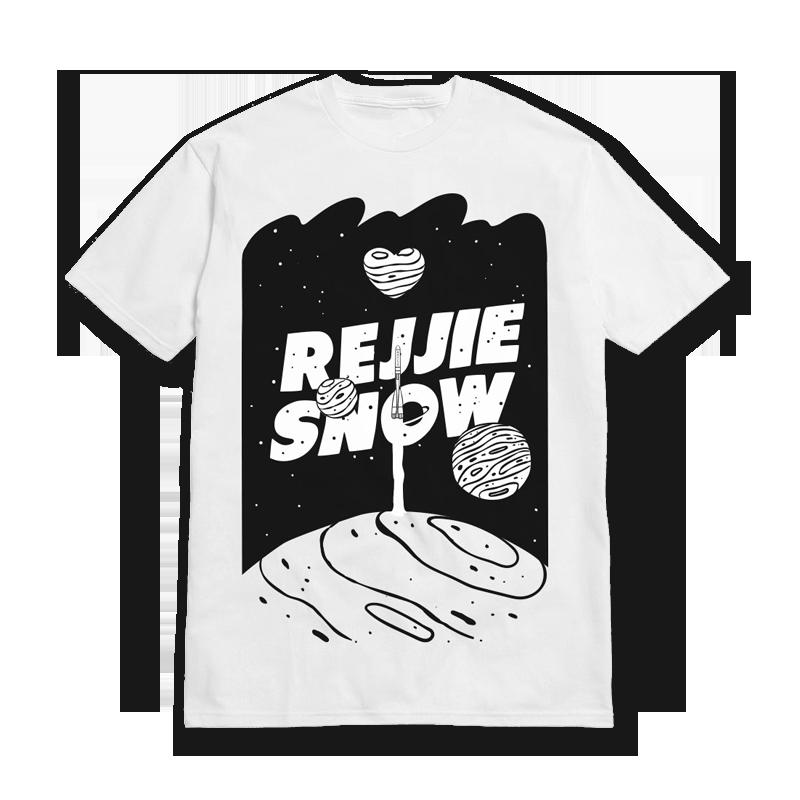 Buy Online Rejjie Snow - Space Tee
