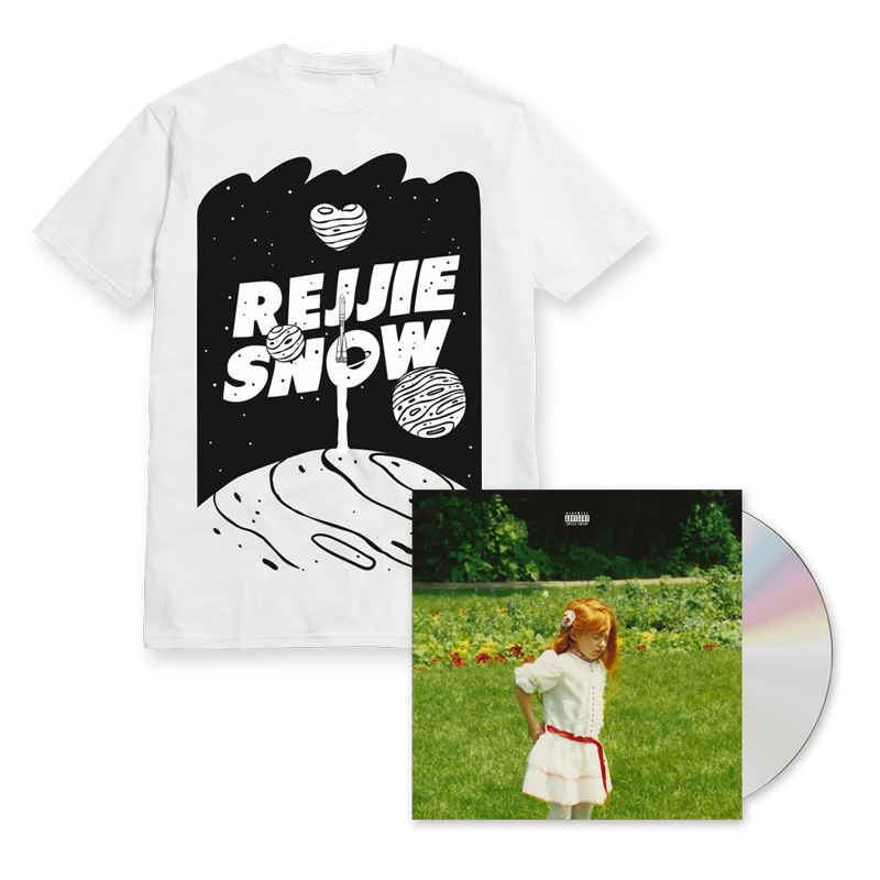 Buy Online Rejjie Snow - Dear Annie CD + Tee