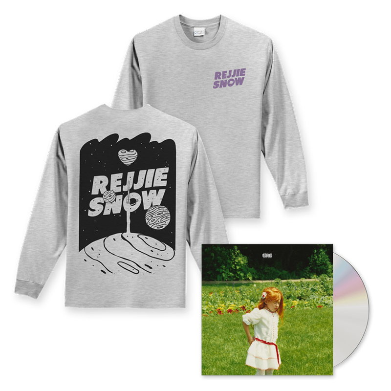 Buy Online Rejjie Snow - Dear Annie CD + Grey Longsleeve
