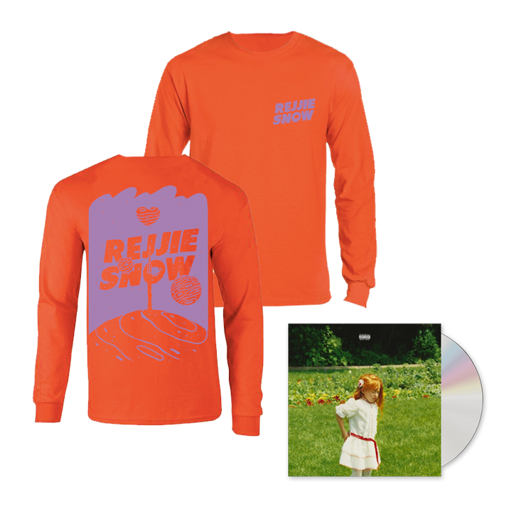 Buy Online Rejjie Snow - Dear Annie CD + Orange Longsleeve