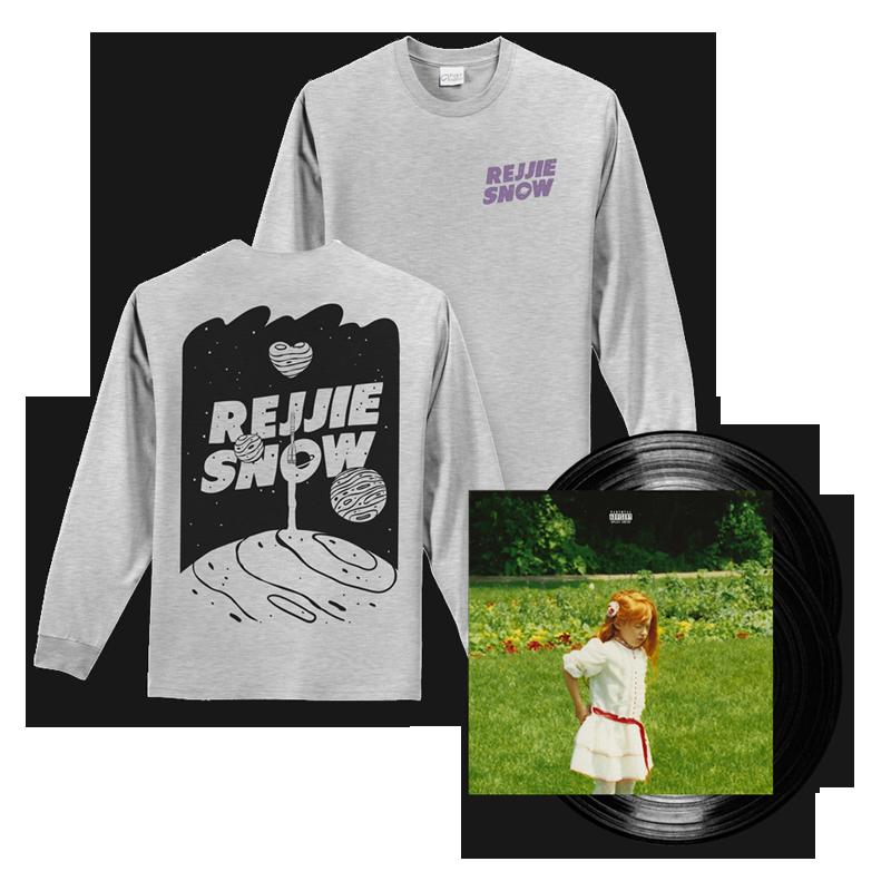 Buy Online Rejjie Snow - Dear Annie Double Vinyl LP + Grey Longsleeve