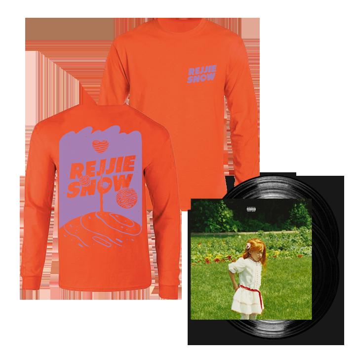 Buy Online Rejjie Snow - Dear Annie Double Vinyl LP + Orange Longsleeve