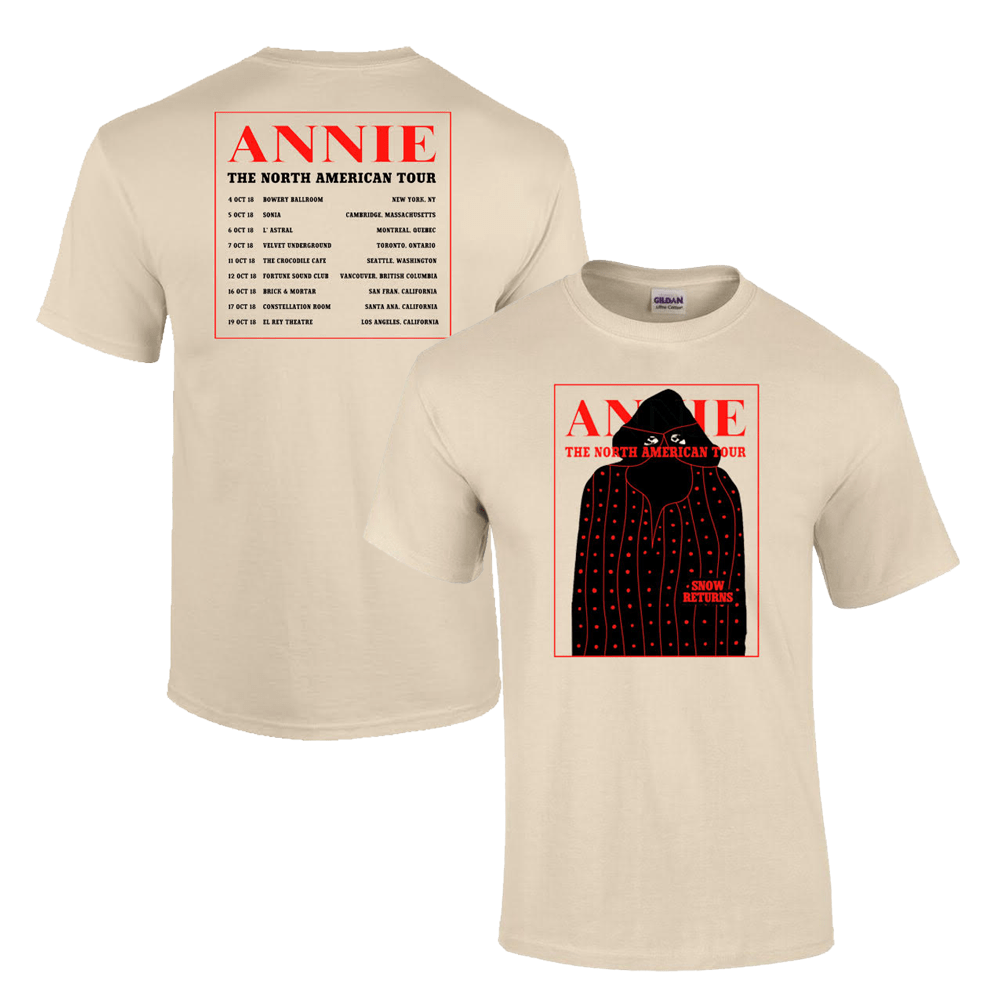 Buy Online Rejjie Snow - North America Tour T-Shirt