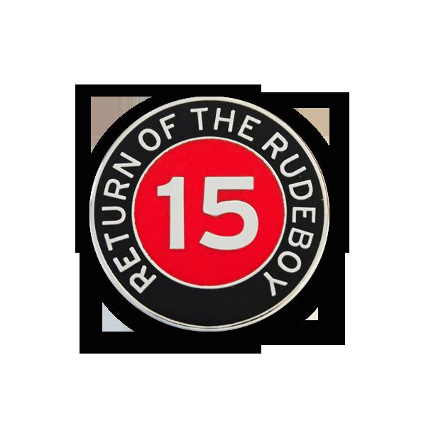 Buy Online Return Of The Rudeboy - Red & Black Badge