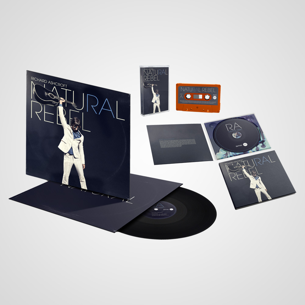 Buy Online Richard Ashcroft - Natural Rebel CD + Vinyl + Cassette